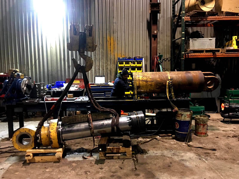 D&D Equipment Repair - Heavy Equipment in house hydraulic cylinder rebuilds and repairs